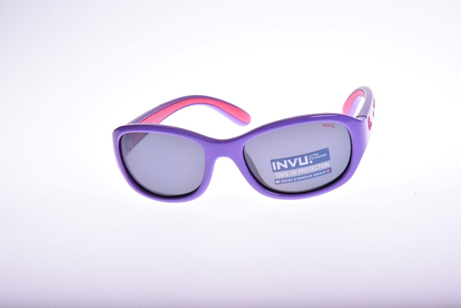 INVU. Kids K2501C - Slnečné okuliare pre deti 1-3 r.