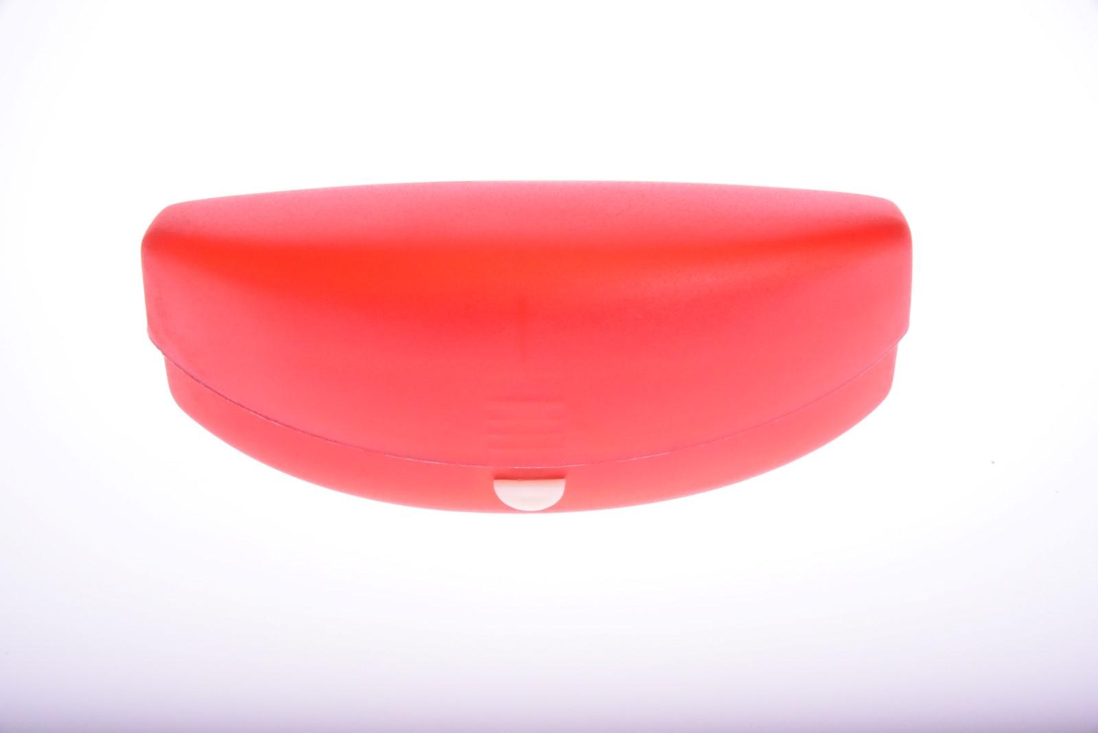 Púzdro na okuliare - Červené PLASTOVÉ VEĽKÉ
