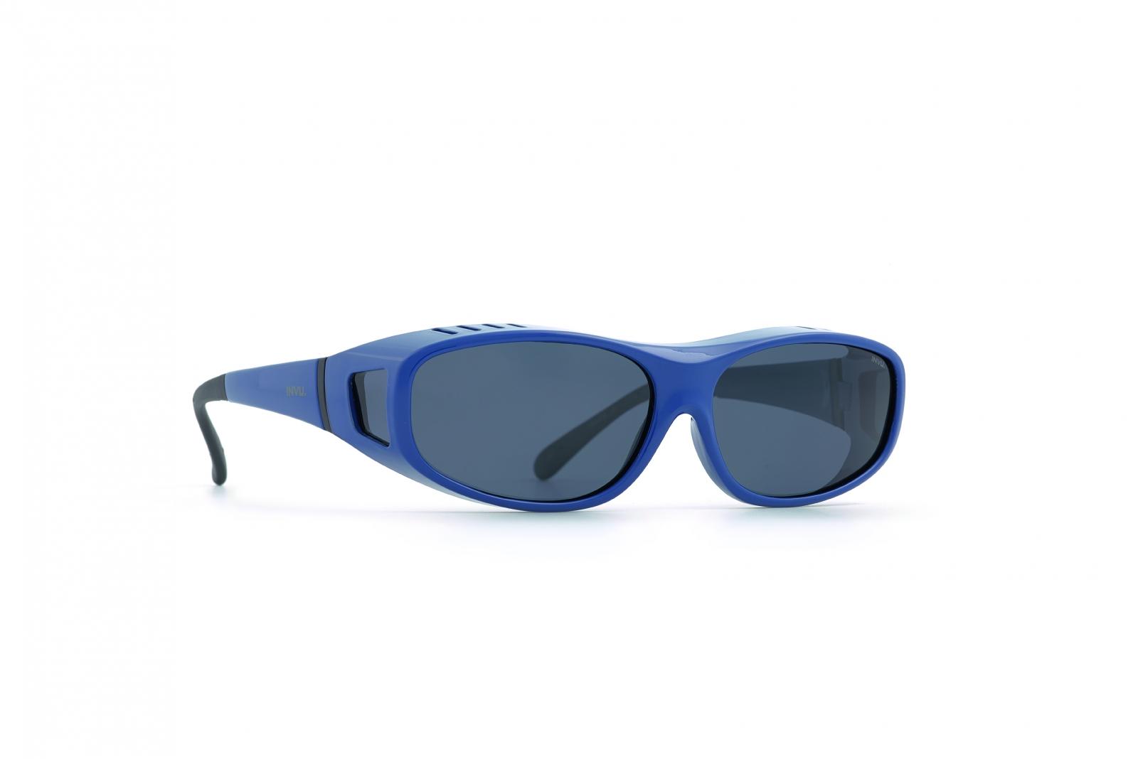INVU. Easyfit E2800C - Slnečné okuliare na dioptrický rám pre deti 4-7 r.