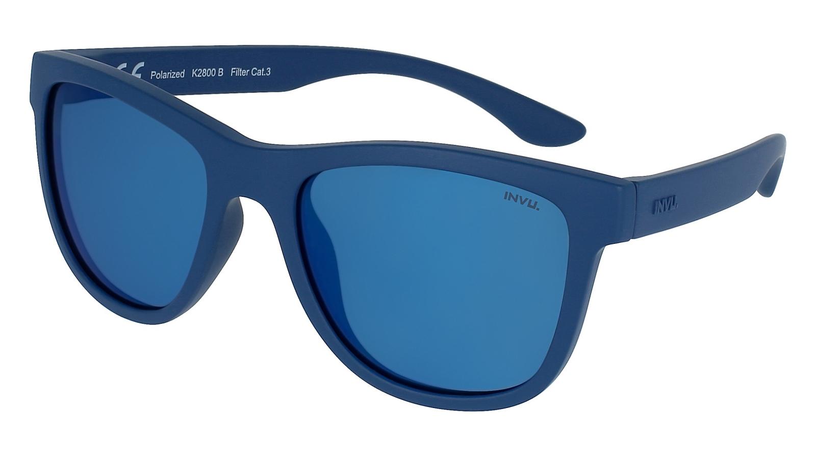 INVU. Kids K2800B - Slnečné okuliare pre deti 4-7 r.
