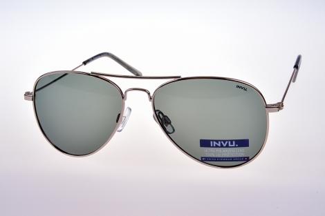 INVU. Kids K1102B - Slnečné okuliare pre deti 12-15 r.