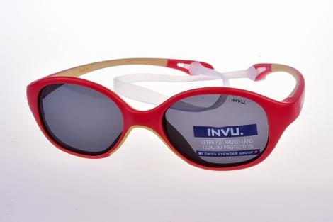 INVU. Kids 2008F - Slnečné okuliare pre deti 1-3 r.